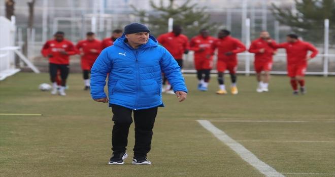 Sivasspor'da Antalyaspor maçının hazırlıkları başladı