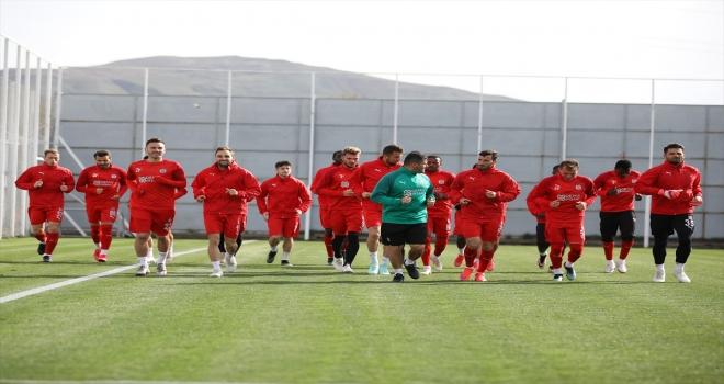 Sivasspor'da Yeni Malatyaspor maçı hazırlıkları başladı