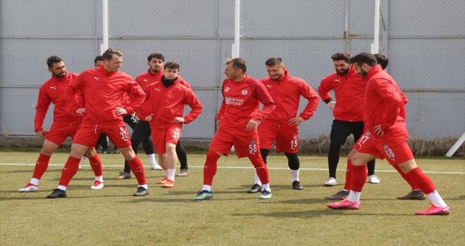 Sivasspor, Trabzonspor maçının hazırlıklarını sürdürdü