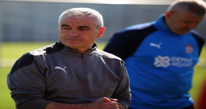 Sivasspor, Yeni Malatyaspor maçının hazırlıklarını sürdürdü