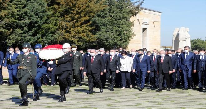 TBMM'nin açılışının 101. yıl dönümü dolayısıyla Birinci Meclis'te tören düzenlendi