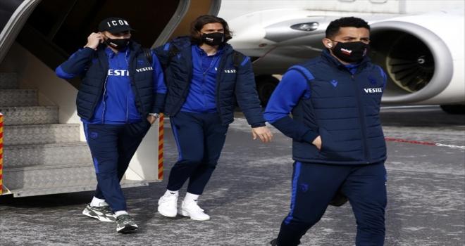 Trabzonspor kafilesi, Sivas'a geldi