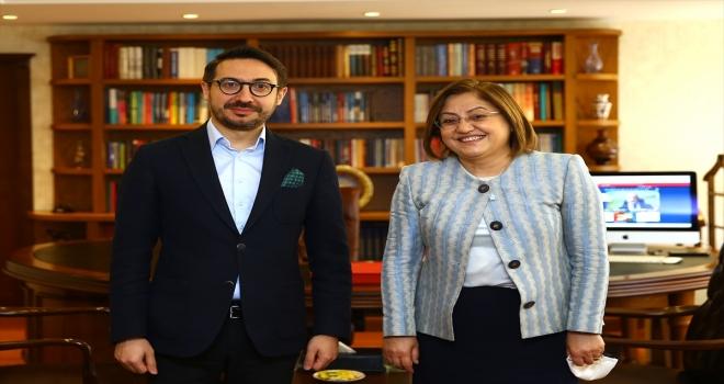 Türkiye Belediyeler Birliği Başkanı Şahin, AA Genel Müdürü Karagöz'ü ziyaret etti