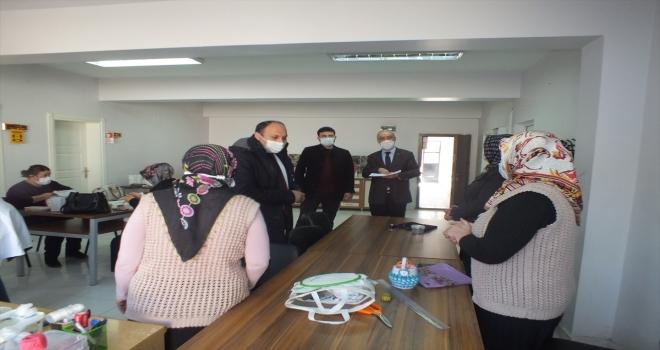 Ulaş'ta kaneviçe kursu açıldı