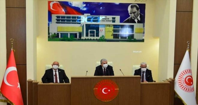 Vali Akın, İl Genel Meclisi Toplantısına katıldı