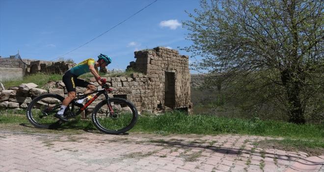 Bisiklette Kayseri'de Mount Erciyes High Altitude MTB CUP XCO C2 yarışı yapıldı