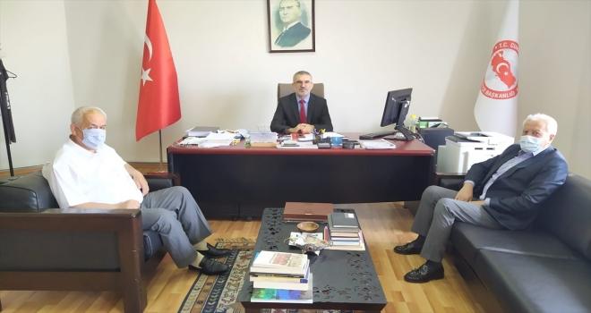 Bozkır Belediye Başkanı Sadettin Saygı, Ankara'da bir dizi ziyarette bulundu