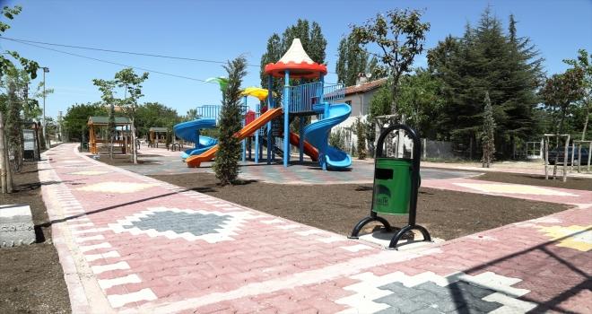 Çubuk Belediyesinden ilçeye yeni parklar