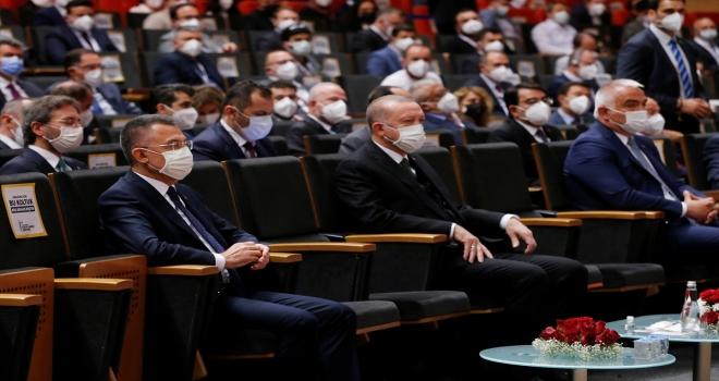 Cumhurbaşkanı Erdoğan, 1. Uluslararası Medya ve İslamofobi Sempozyumu'nda konuştu: (2)