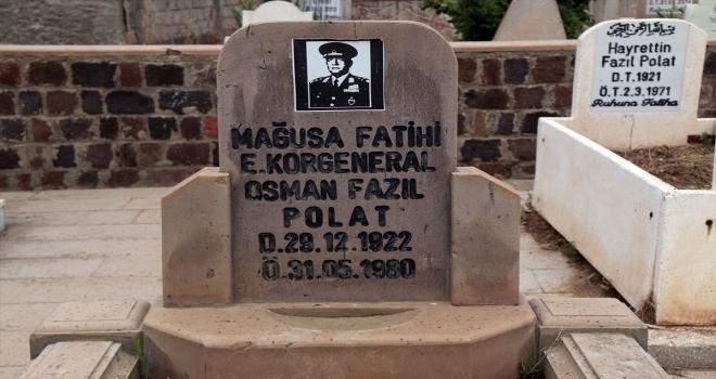 Emekli Korgeneral Polat, Şarkışla ilçesinde mezarı başında anıldı