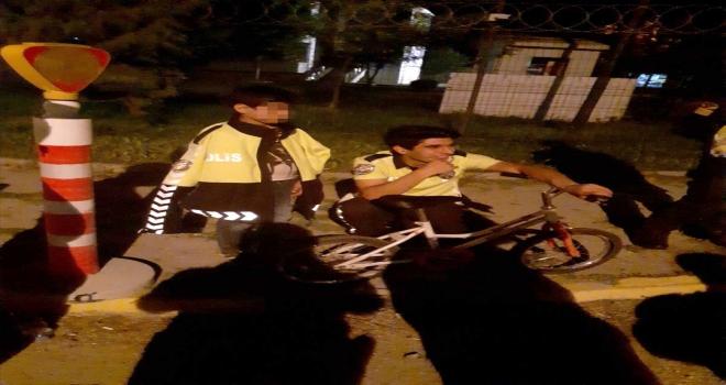 Eskişehir'de bisikletle gezerken kaybolan çocuk polis ekiplerince bulundu
