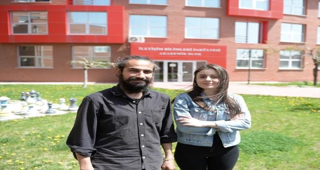 Eskişehir'de üniversite öğrencileri çocuk evlerini çevrim içi atölyelerle buluşturdu