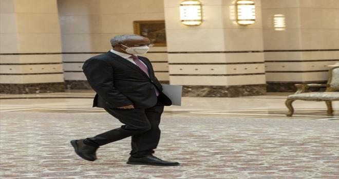 Etiyopya Büyükelçisi Mahmud, Cumhurbaşkanı Erdoğan'a güven mektubu sundu