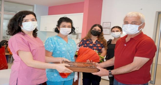 Finike'de Hemşireler Haftası kutlandı