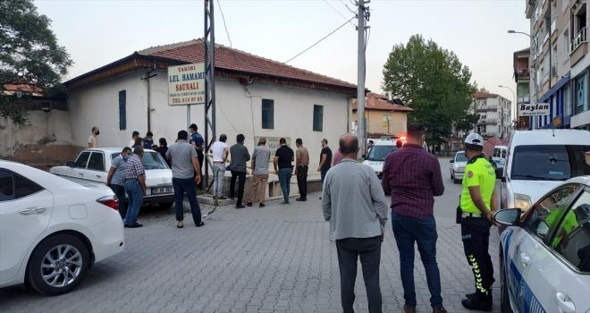 Karaman'da bir kişi, işletmeciliğini yaptığı hamamda ölü bulundu