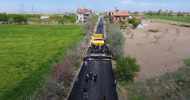 Karatay Belediyesinin yeni hedefi 250 bin ton asfalt dökmek