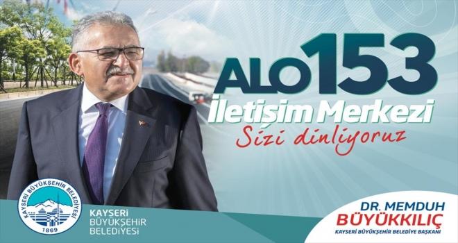Kayseri'de 153 Çağrı Merkezi tam kapanma sürecinde 50 bin çağrıya cevap verdi