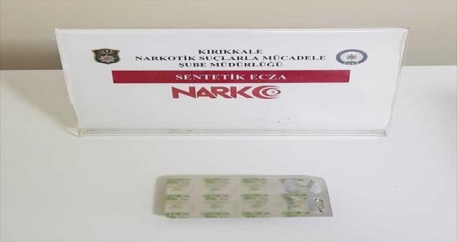 Kırıkkale'de uyuşturucu ticareti yaptığı iddiasıyla 1 şüpheli tutuklandı