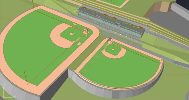 Kızılcahamam'a ragbi ve beyzbol sahası yapılacak