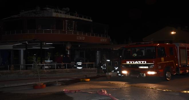 Konya'da bir lokantada patlama meydana geldi