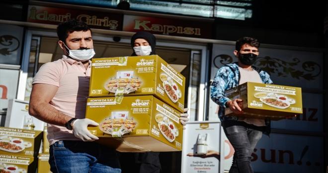Konyalıların tutkunu olduğu düğün lezzetleri paket servisle evlere ulaşıyor
