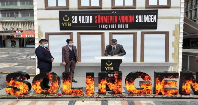 MHP'li Aydın, Ulus Meydanı'nda YTB tarafından açılan