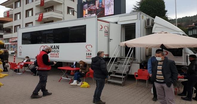 Nallıhan'da kan bağışı kampanyası düzenlendi