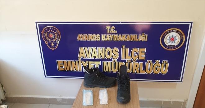 Nevşehir'de botunun içinde uyuşturucuyla yakalanan şüpheli tutuklandı