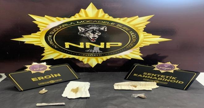 Niğde'de uyuşturucu operasyonları: 12 gözaltı
