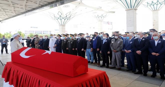 Şehit Jandarma Uzman Çavuş Hüseyin Keleş, Ankara'da son yolculuğuna uğurlandı
