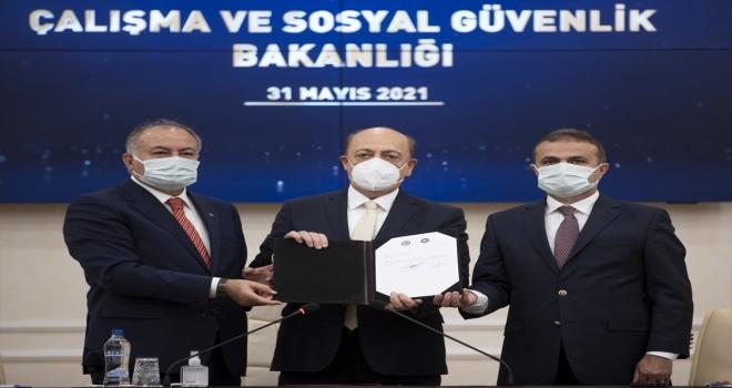 Türk-İş ve Hak-İş, kamu işçisi için ortak zam talebini Çalışma ve Sosyal Güvenlik Bakanlığına sundu