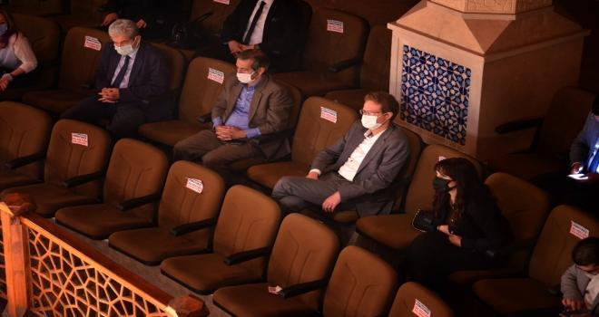 AB Büyükelçisi Nikolaus Meyer-Landrut Konya'da sema ayini izledi: