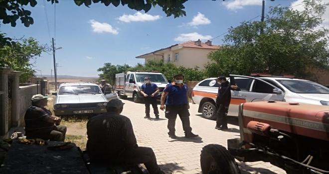AFAD ekipleri deprem bölgesinde incelemede bulundu