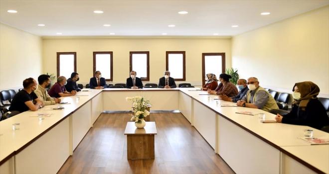 AK Parti Ankara Milletvekili Hacı Turan, Beypazarı'nda ziyaretlerde bulundu