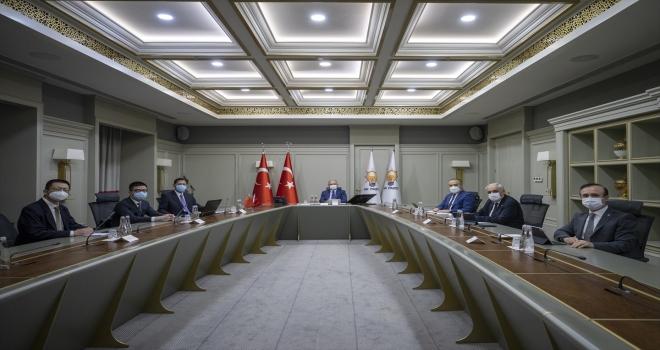 AK Parti Genel Başkan Yardımcısı Ala, Çin Halk Cumhuriyeti Ankara Büyükelçisi ile görüştü