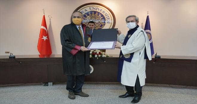 Ankara Üniversitesinden Prof. Dr. Gökhan Hotamışlıgil'e fahri doktora