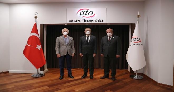 Ankara Vergi Dairesi Başkanı Duman, ATO Başkanı Baran'ı ziyaret etti