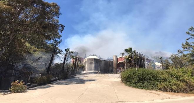 Antalya'da yakın iki noktada çıkan orman yangınlarına müdahale ediliyor