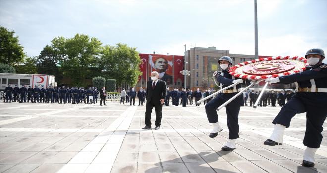 Atatürk'ün Eskişehir'e ilk gelişinin 101'inci yıl dönümü törenle kutlandı