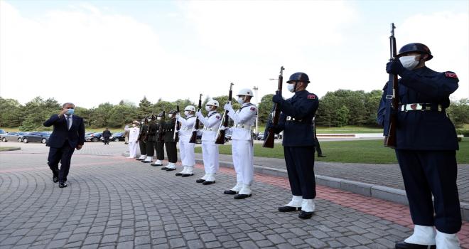 Bakan Akar, NATO Deniz Güvenliği Mükemmeliyet Merkezi Komutanlığı açılış töreninde konuştu: