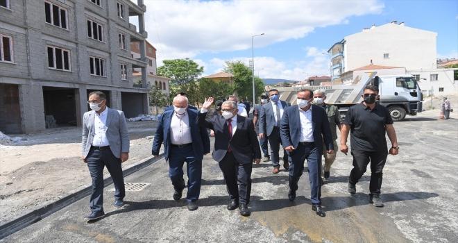 Başkan Büyükkılıç, İncesu ilçesindeki asfalt çalışmalarını denetledi