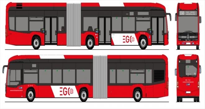 Başkentte ilk defa toplu taşımada hizmet verecek 301 otobüsün tasarımı anketle belirlenecek