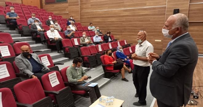 Beypazarı İlçe Milli Eğitim Müdürü Dursun, okul müdürleriyle toplantı yaptı