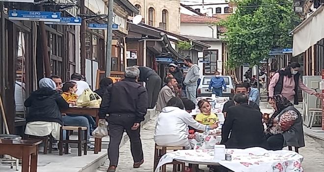 Beypazarı sokakları eski kalabalığına kavuştu