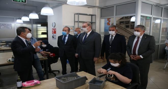 CHP Ekonomi Masası heyeti, Eskişehir'de sanayicileri ve esnafı ziyaret etti