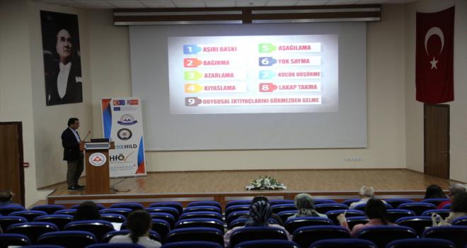 ERÜ'de çocuk istismarını önlemeye yönelik program başlatıldı