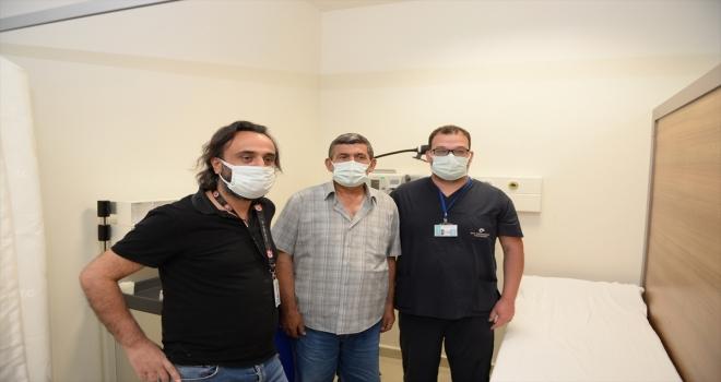 Eskişehir'de bir hastanın karnından 6 kilogram ağırlığında kitle çıkarıldı