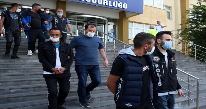 Kayseri'de uyuşturucu operasyonunda 6 zanlı yakalandı