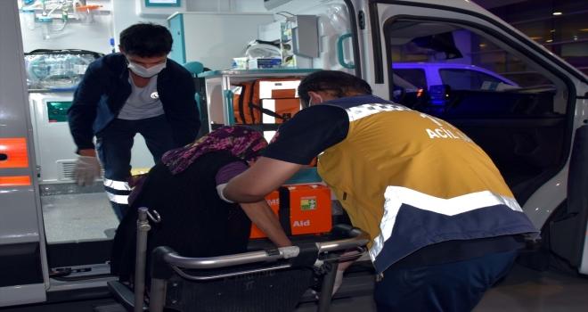 Kırıkkale'de bacağına kene yapışan kadın hastaneye kaldırıldı