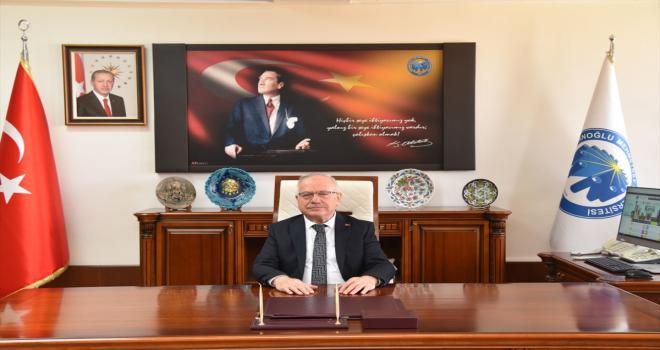 KMÜ Rektörü Ak'ın Karaman'ın il oluşunun yıldönümü mesajı